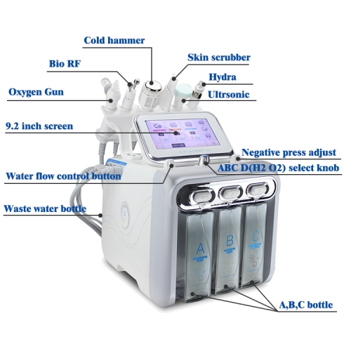 6 in 1 BEAUTY MACHINE HYDRA O2H2